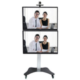 LCD Dual TV Floor Stand Vertical (UPT2V)  - 1