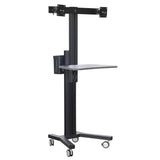 Dual TV Floor Stand (VCT09-D)  - 6