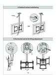 Adjustable LCD TV Ceiling Mount (R260)  - 10
