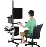 Computer Mobile Cart (MCT08)  - 6