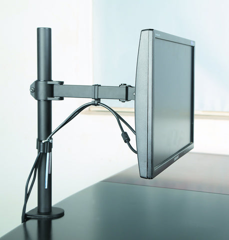 Monitor Desk Mount Stand Full Motion Swivel Monitor Arm for 17''-27'' Computer Monitor, (EC-MM)