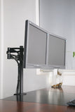 Premium  Dual Monitor Stand - Clamp Type (2MS-CT)  - 4
