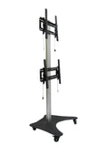 LCD Dual TV Floor Stand Vertical (UPT2V)  - 3