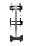 LCD Dual TV Floor Stand Vertical (UPT2V)  - 4