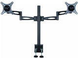 Premium  Dual Monitor Stand - Clamp Type (2MS-CT)  - 7