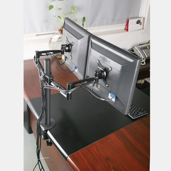 Premium  Dual Monitor Stand - Clamp Type (2MS-CT)  - 1