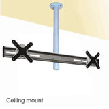 Adjustable Dual Monitor Ceiling Mount (CM-SD)  - 2