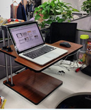 Adjustable Sit to Stand Standing Desk On Top Of Your Existing Desk  - 13