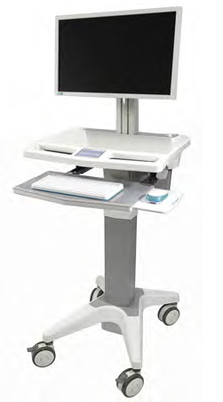 Spring Dual Monitor Stand  (2MS-CTS)  - 1