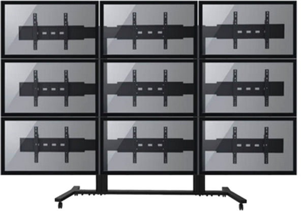 LCD Video Floor Stand (VS-F9)  - 1