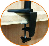 LCD Monitor Stand - Clamp Type with Two Arm (LMS-CT) - A2  - 2