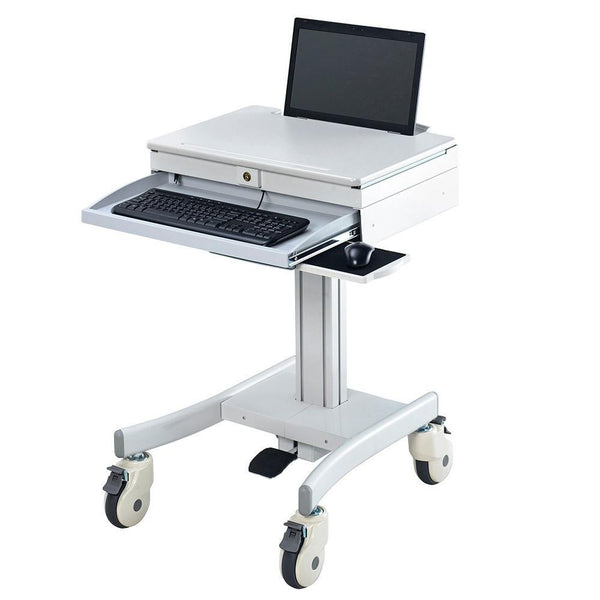 Medical Patient care Laptop  Cart India  (HSC-D)  - 1
