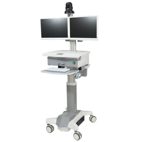 Medical Cart for Dual LCD / All in One (HSC03-b)  - 1