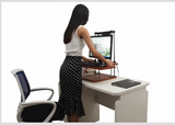Adjustable Sit to Stand Standing Desk On Top Of Your Existing Desk  - 15