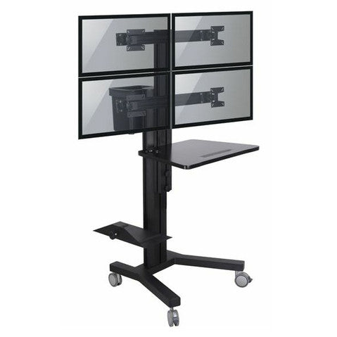4 Monitor cart with Mobile Solution