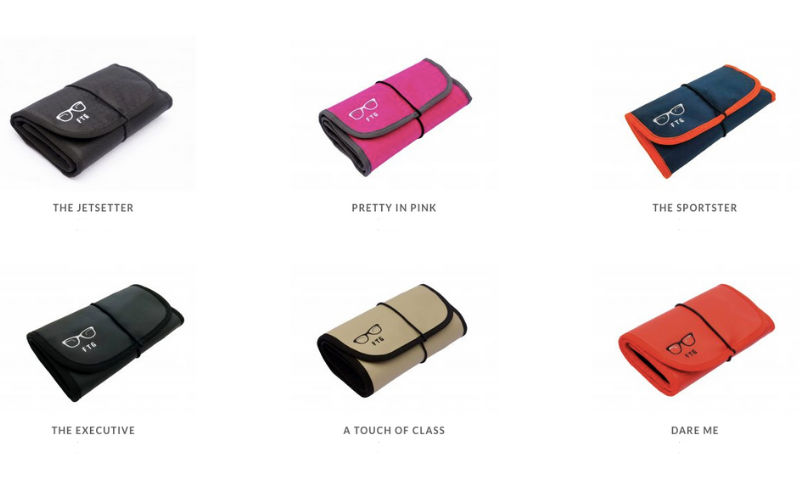 FTG Spectacle Case Pouch Range Img