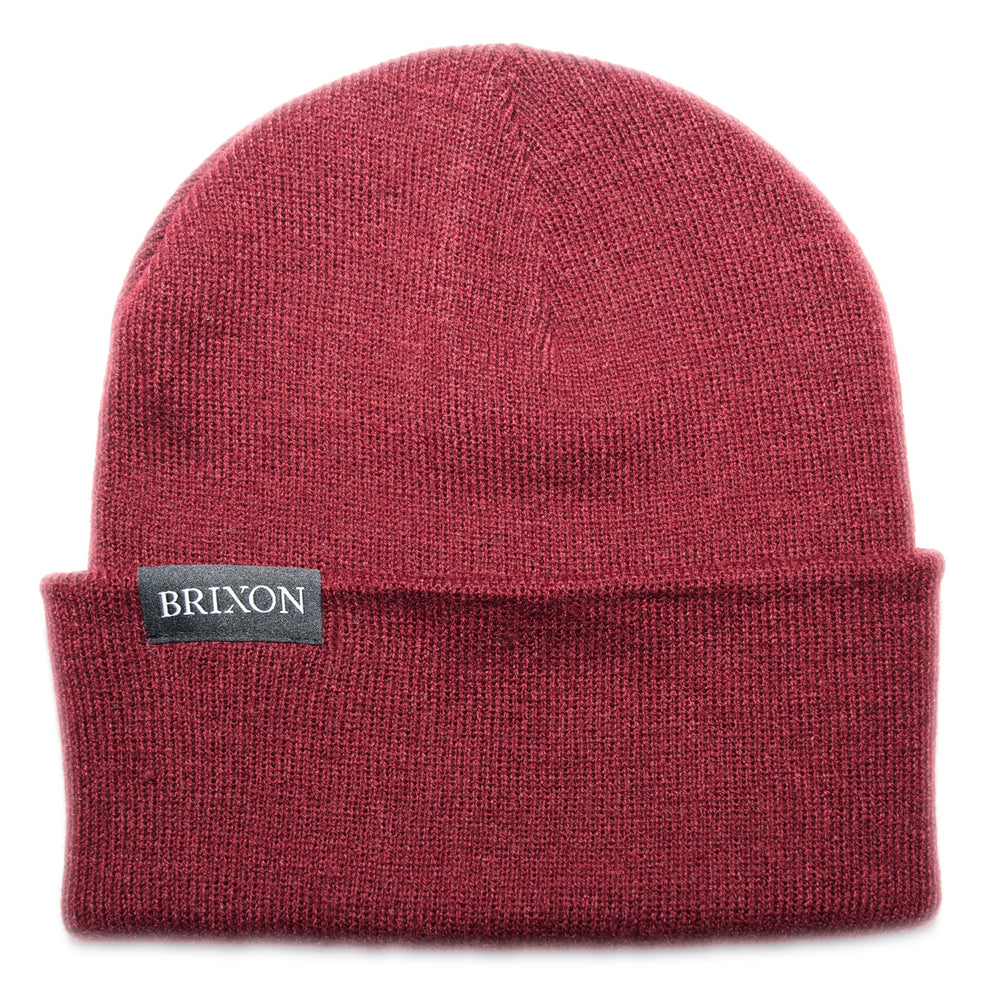 Simple Beanie Bordeaux