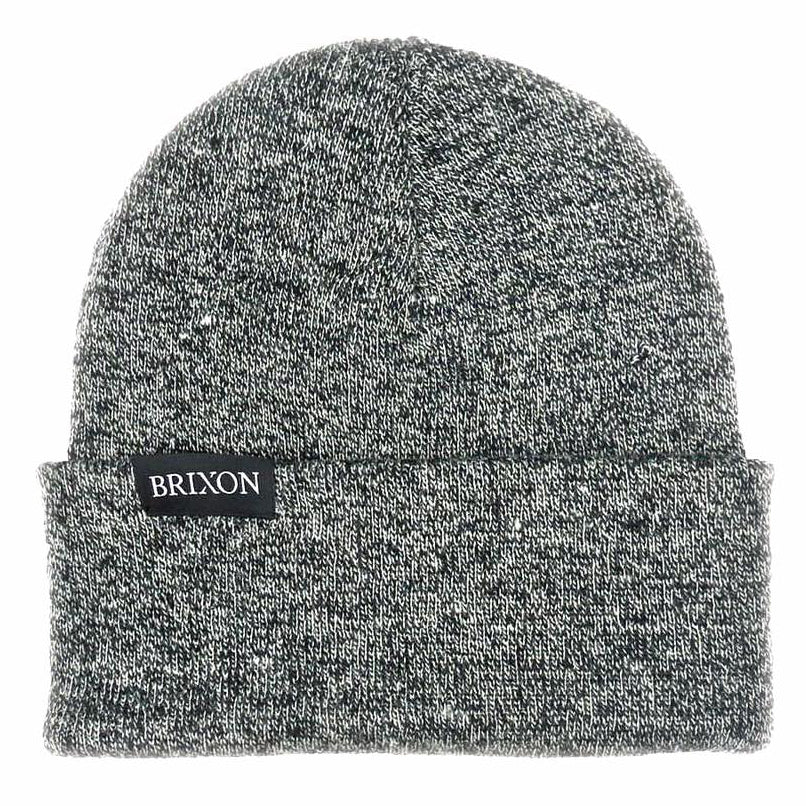 Simple Beanie Grau Melange