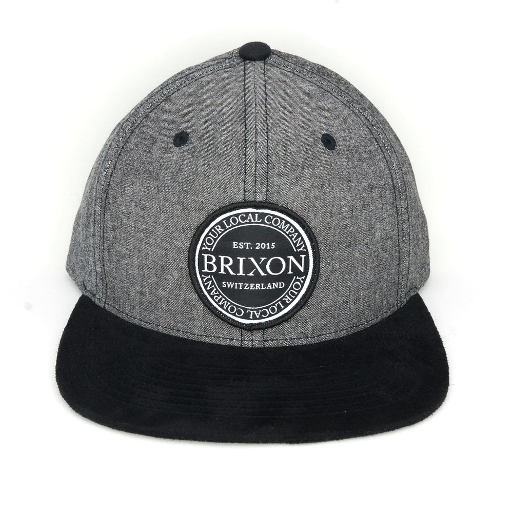 Snapback Badge Limited Grau/Schwarz