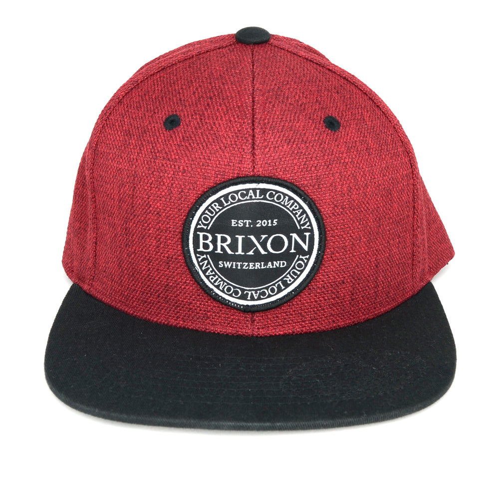 Snapback Badge Limited Rot/Schwarz
