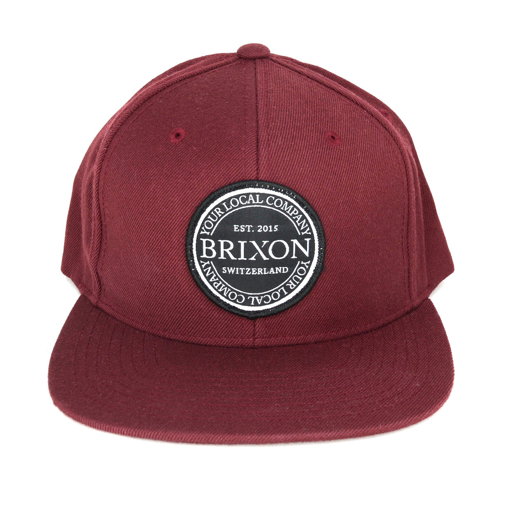 Snapback Simple Bordeaux