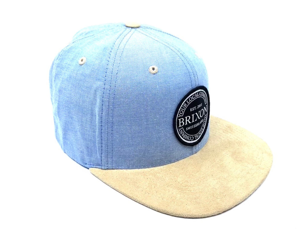 Snapback Badge Limited Blau/Braun