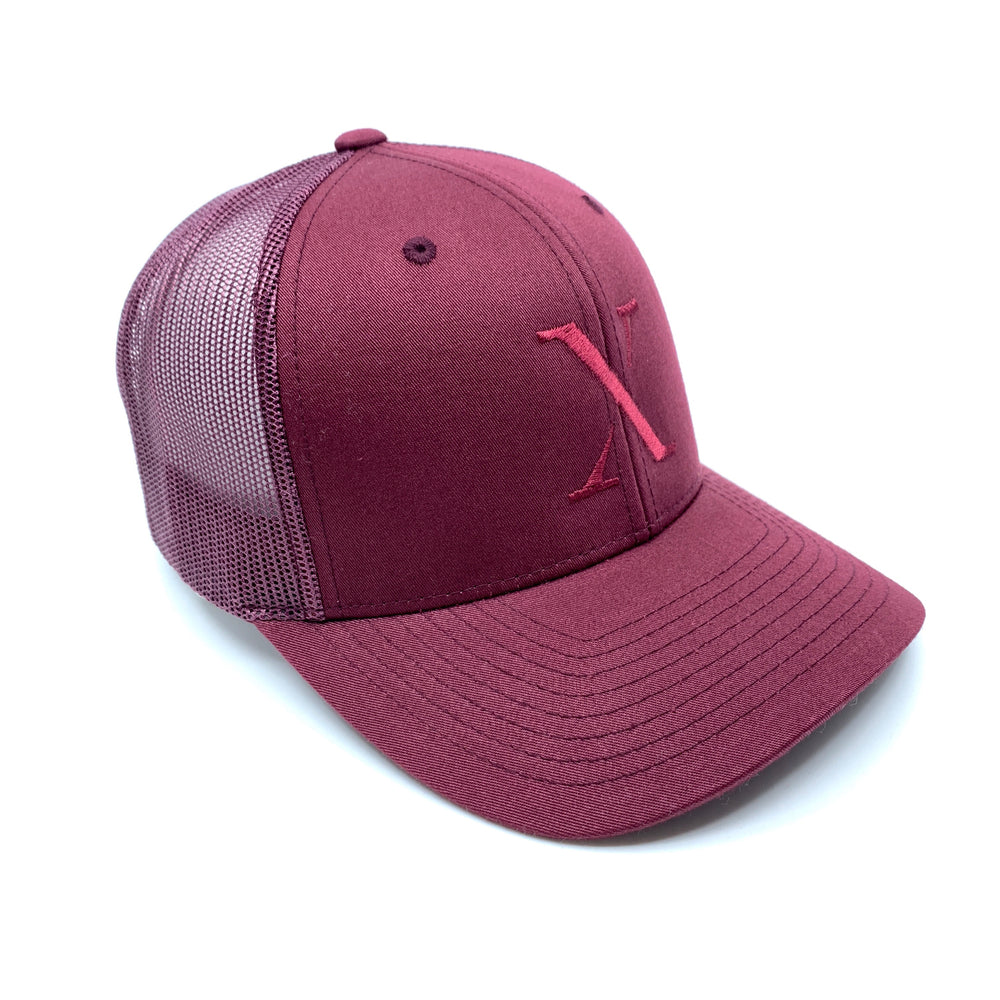 X Trucker Cap Limited Bordeaux