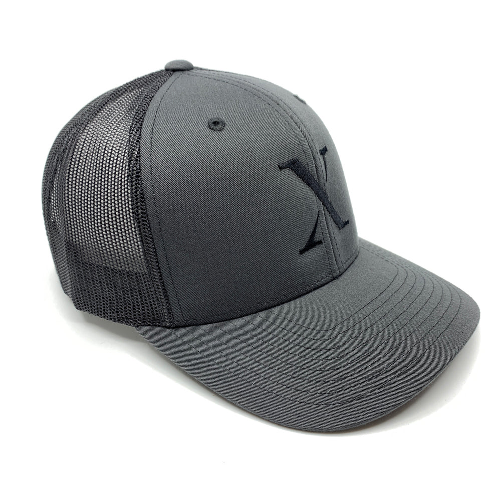 X Trucker Cap Limited Grau