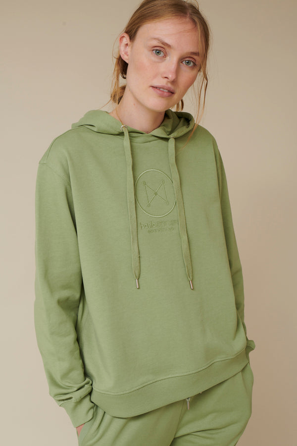 Basic Apparel Maje hoodie - organic GOTS Sweatshirts 113 Oil Green