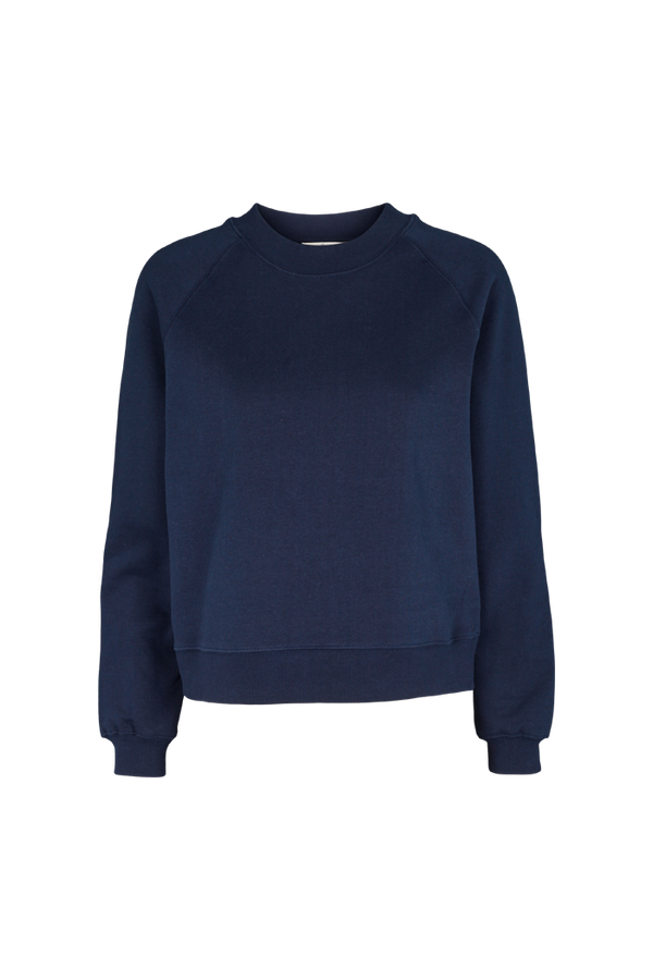 Basic Apparel Maje sweatshirt - organic GOTS Sweatshirts 048 Navy