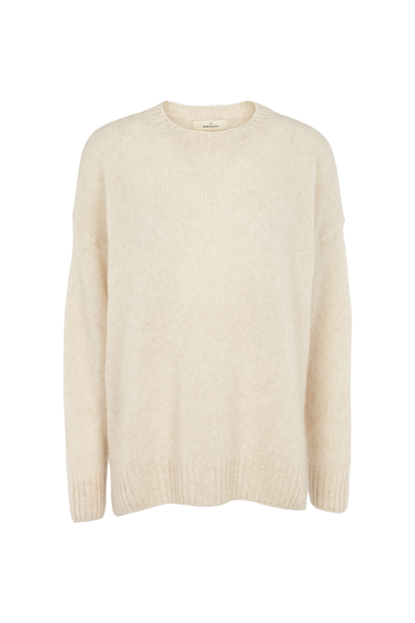 Basic Apparel Marnie o-neck Sweaters 119 Caolino Rose Mel