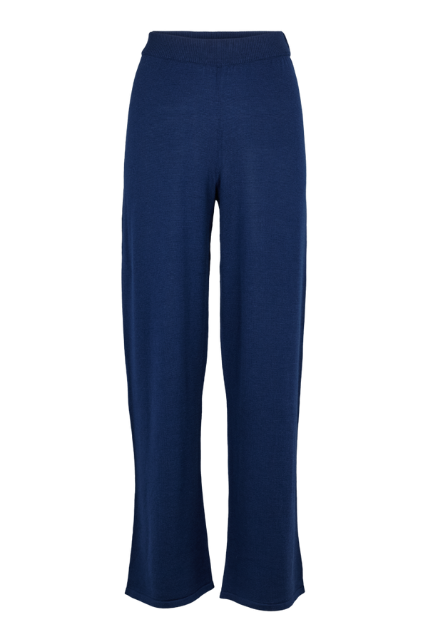 Basic Apparel Vera wide pants Pants 048 Navy