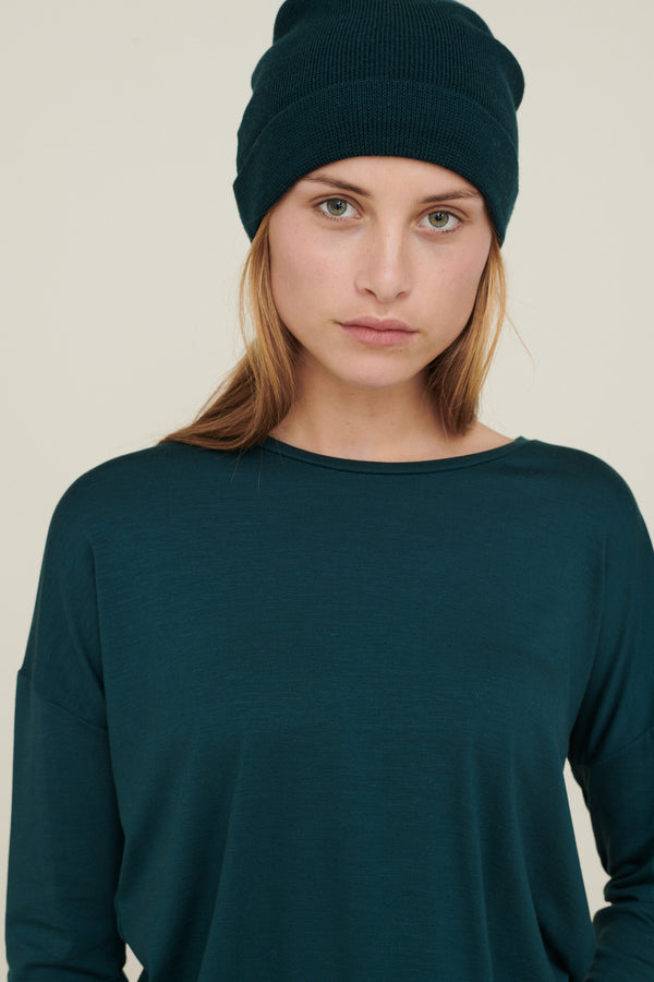 Basic Apparel Vera beanie Hats and beanies 065 Sea moss