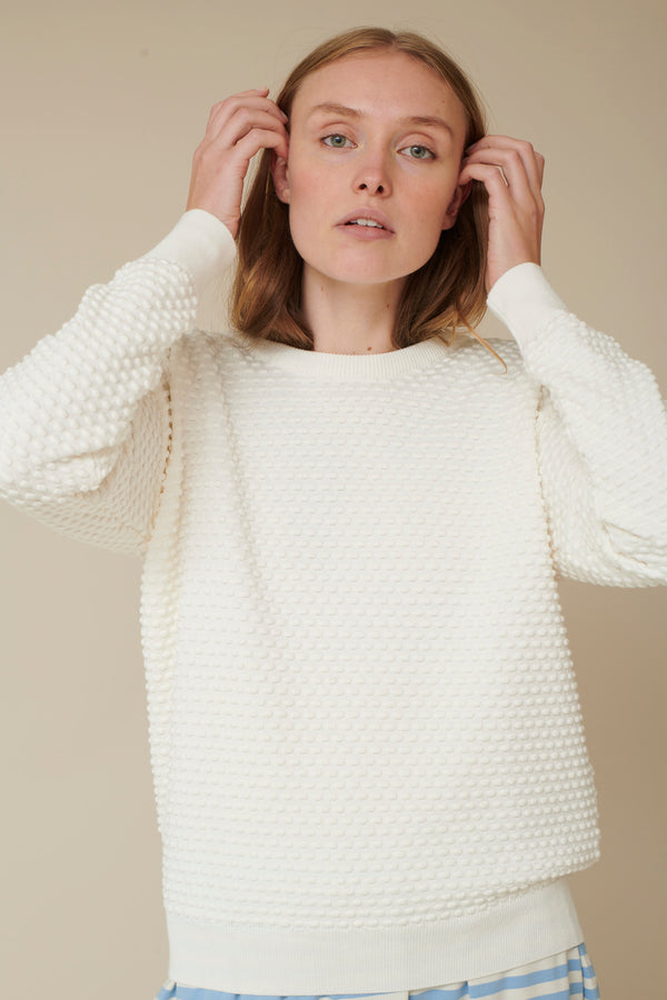 Basic Apparel Vicca - organic cotton Sweaters 000 Off white