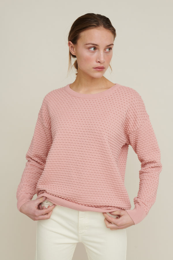 Basic Apparel Vicca - organic cotton Sweaters 175 Rose tan