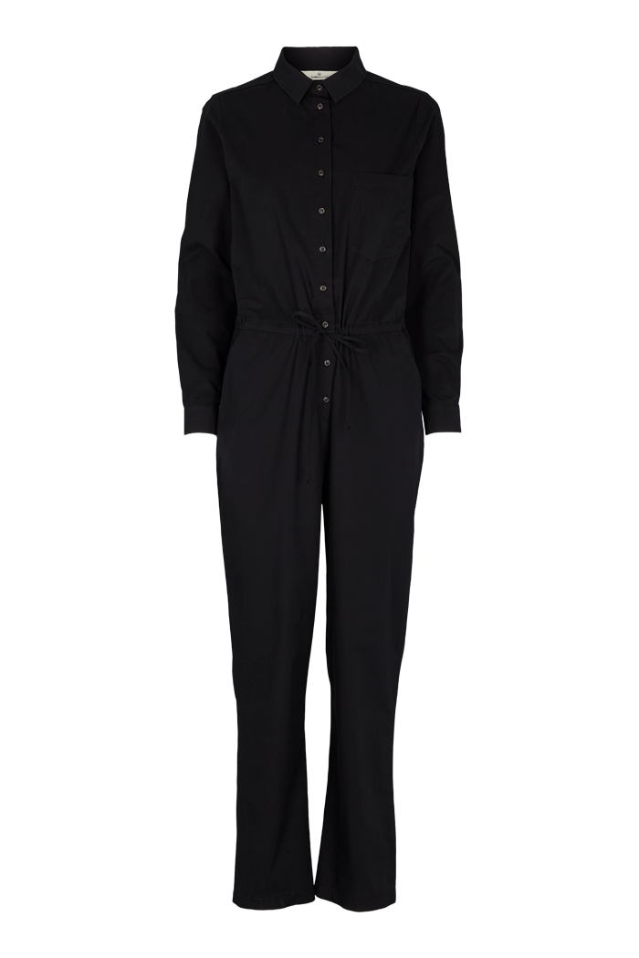 Basic Apparel Vilde jumpsuit - organic GOTS Jumpsuits 001 Black