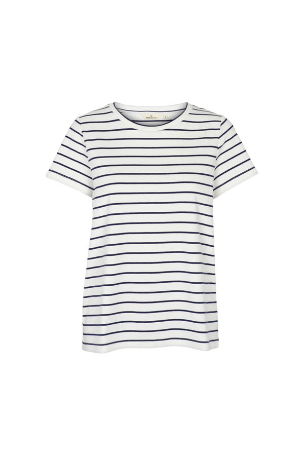 Basic Apparel Balou dress Dresses 384 Off white/navy