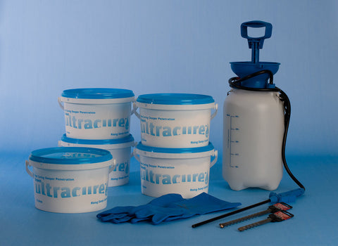 Ultracure Damp Proofing Kit - 3 Litre