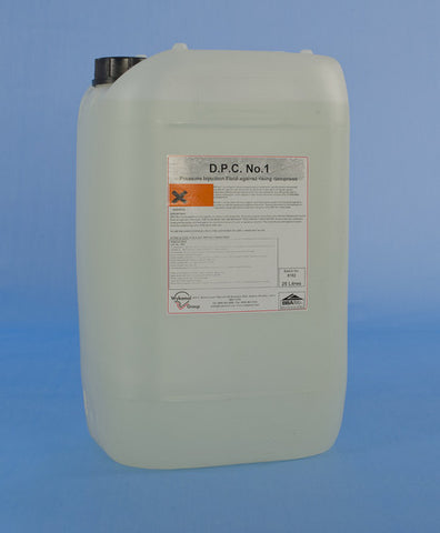 'DPC No. 1' Damp Proofing Fluid - 25 Litres