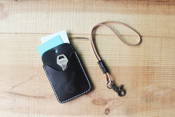 Handmade Pullout Leather Card holder