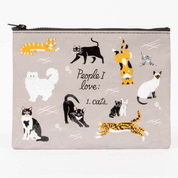 Zipper Purse - PEOPLE I LOVE: CATS