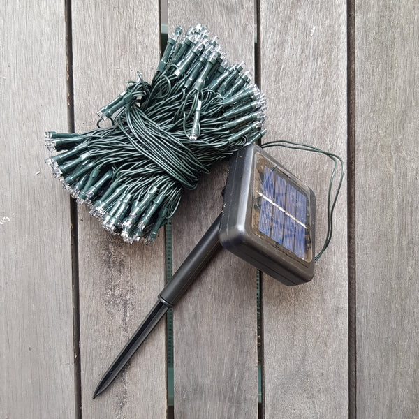 Solar power outdoor string light