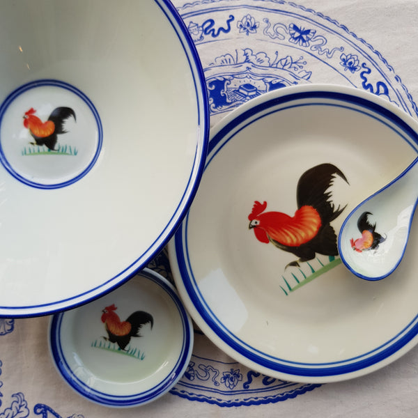 Rooster ceramic table series