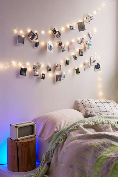 String Lights With Clips Simple String Lights W Photo Clips Cat Socrates Special Selection