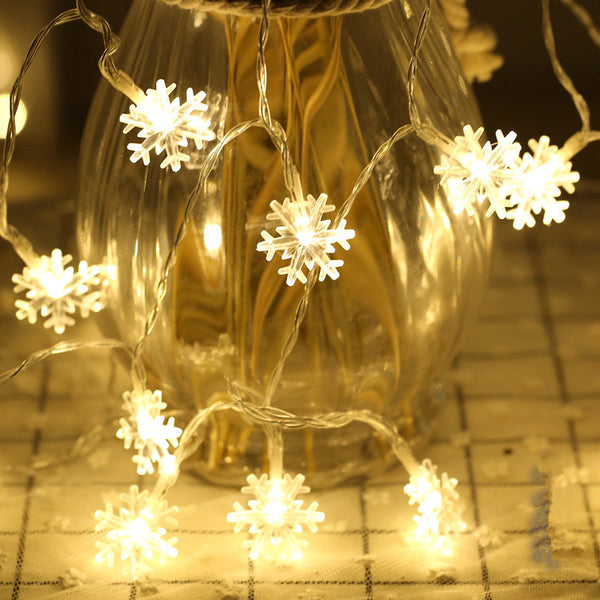 Snowflake LED String Light