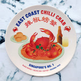 Singapore Food Melamine Plates