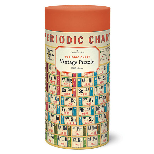 Periodic Chart 1000 piece Puzzle