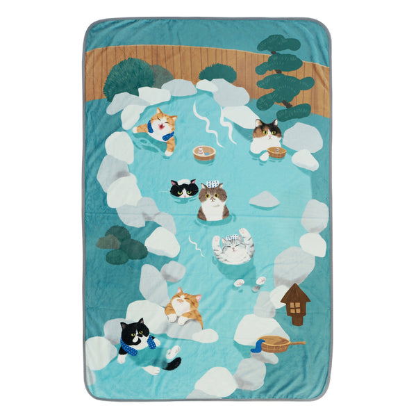 Kitty Land Ultra Soft Blanket