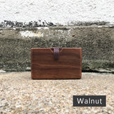 Handmade Wooden Card Case