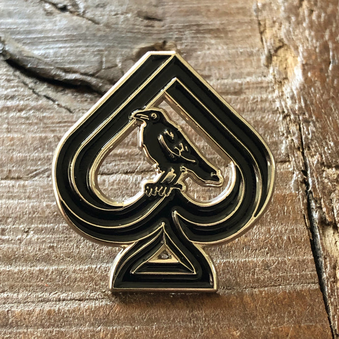 Enamel Pin - Ravn Ace of Spades